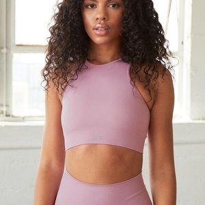 Rosy high neck sports bra